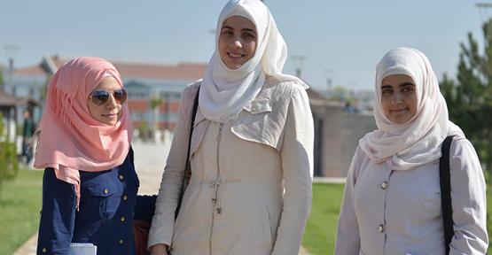 Karaman Kmü' de 615 yabancı öğrenci başvurusu yapıldı