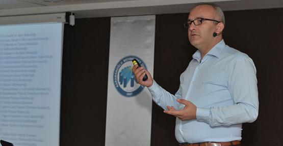 Karaman Kmü de personele hizmet içi eğitim verilidi
