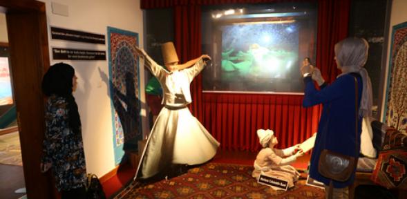 Karaman Turizm Tanıtım ve Bilgi Merkezi ilgi görüyor