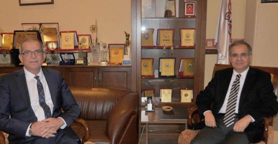 Karaman Valisi Tapsız  Saray Holding'i Ziyaret Etti