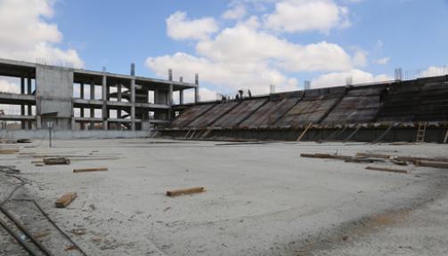 Karaman'da 3 bin kişilik spor salonu 2017 de açılacak