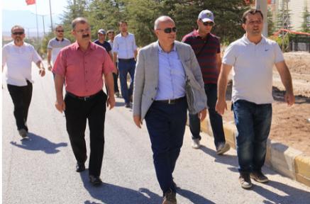 Karaman'da Alparslan Türkeş Bulvarı baştan sona yenilenecek