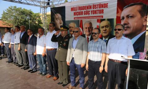 Karaman'da Başkan Çalışkan, meydanlar tarih yazmaya devam edecek dedi