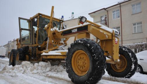 Karaman'da Belediye Kışa Hazır