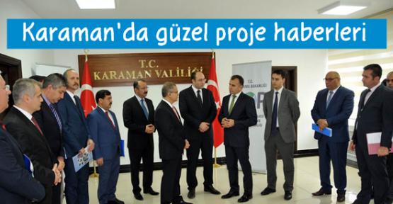 Karaman'da güzel proje haberleri