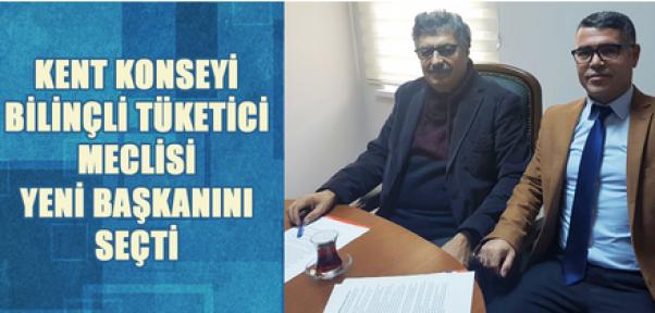 Karaman'da  Kent Konseyi Bilinçli Tüketici Meclisi Başkanı Seçildi