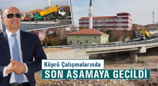 Karaman'da köprü çalışmaları sona eriyor