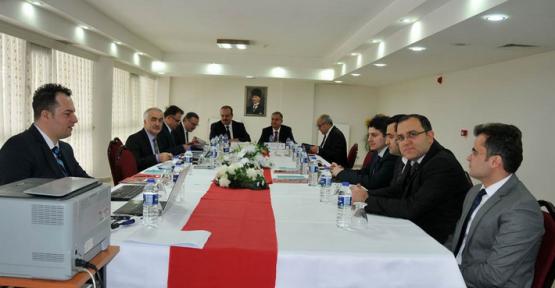 Karaman'da MEVKA toplantısı yapıldı