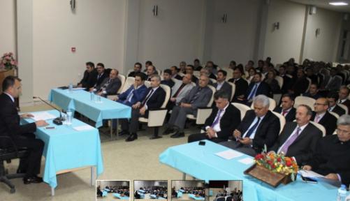 Karaman'da okul müdürleri toplantısı yapıldı