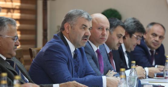 Kayseri Büyükşehir Belediyesi 2017 yılını planlıyor