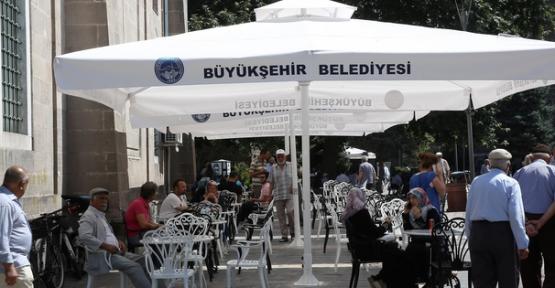Kayseri'de kente estetik dokunuş