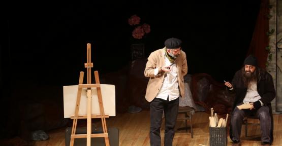 Kayseri'de Sıradışı Martı tiyatrosu beğeni ile takip edildi