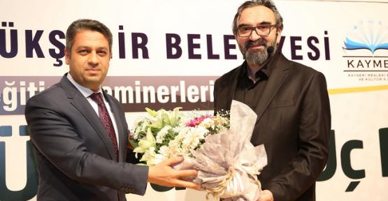 Kayseri'de Üç Yusuf, Üç Rüya, Üç Gömlek konulu seminer düzenlendi