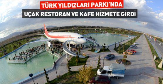 Konya' da Uçak Restoran ve Kafe Hizmete Girdi
