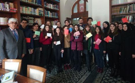 Konya Lisesi Öğrencilerinden Somali'ye Kardeş Mektuplar