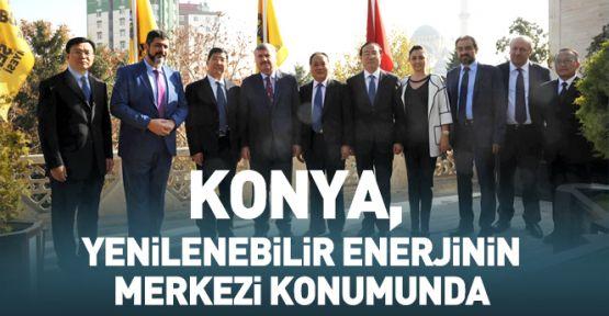 Konya, Yenilenebilir Enerjinin Merkezi Konumunda