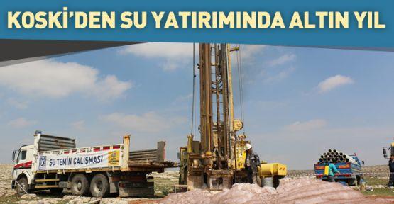 Konya'da 2016, su yatırım yılı oldu
