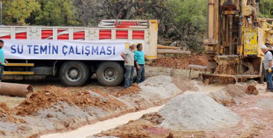 Konya'da 3 mahalleye daha sağlıklı su verildi
