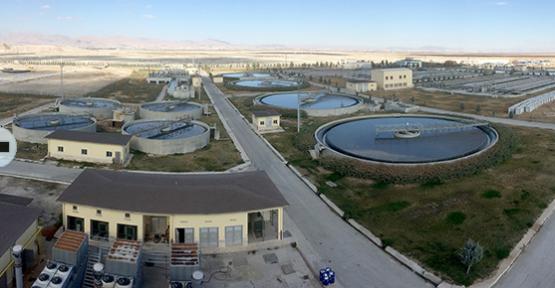 Konya'da arıtma çamurları gübre oluyor