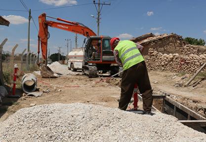 Kulu' da 35 bin 596 metre kanalizasyon çalışması tamamlandı