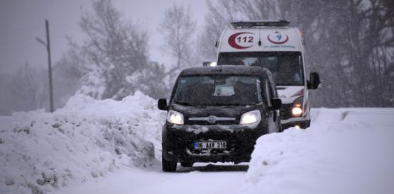 Mersin'de Kar Kalınlığı 1,5 Metreyi Buldu