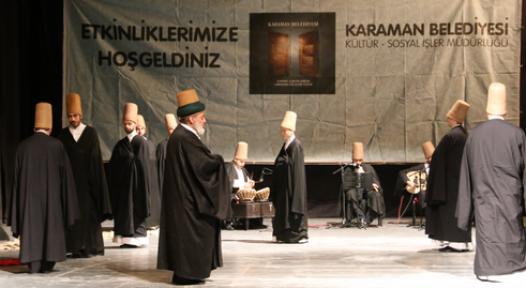 Mevlana Vuslat Yıldönümü Törenleri Karamandan Başladı