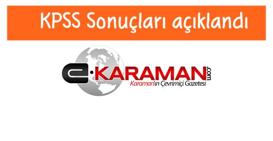 Ortaöğretim KPSS sonuçları açıklandı 2016
