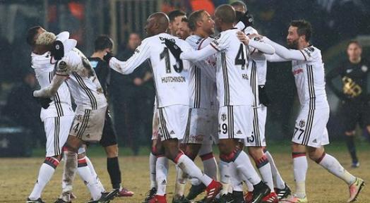 Osmanlıspor' la Beşiktaş maç sonucu kaç kaç?