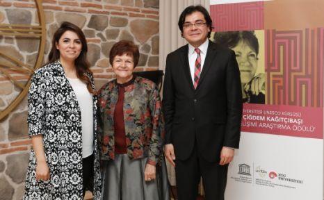 Prof. Çiğdem Kağıtçıbaşı İnsan Gelişimi Araştırma Ödülü Sahiplerini Buldu