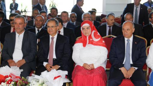 Şehit Muhammet Yalçın Kız İmam Hatip Lisesi Karaman' da Açıldı