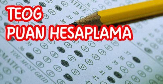 Teog sınavı ve teog puan hesaplama 2017