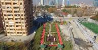 Ankara Çukurambar#039;da görme engellilere özel park