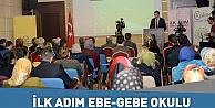 İlk Adım Ebe-Gebe Okulu Projesi başladı