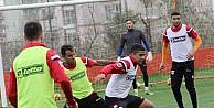 Adanaspor, Atiker Konyaspor maçını hazırlıklarını çift idmanla devam etti