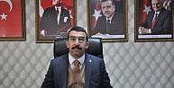 """AK Parti Kars İl Başkanı Adem Çalkın, """"Bizim referansımız milletin iradesidir"""""""