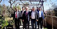 AK Partili Berberden üzüm üreticilerini Rusya bilgisi