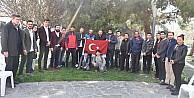"""Başkan Doğan, Kardeşlik için Evet"""" sloganıyla yürüyen grupla buluştu"""