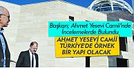 Karaman#39;da yapılan Ahmet Yesevi Camii örnek yapı olacak