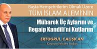 Karaman ve İslam Aleminin Regaip Kandilini kutladı