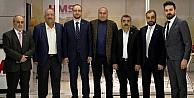 MÜSİAD Konya, Uluslararası Tarım Fuarını gezdi