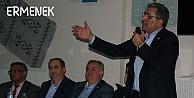 Recep Konuk, referandum çalışmalarını Ermenek#39;te sürdürüyor