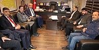 TBMM Avrupa Birliği Uyum Komisyonu Başkanı Kasım Gülpınar, Başkan Demirkol'u ziyaret etti