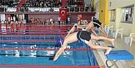 Yüzücüler Analig'de derece yaptı