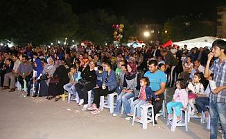 Ramazan etkinlikleri programında  çocuklar sevindi