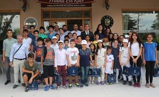 Batman Gönül Köprüsü Projesi Öğrencileri Bursa'da