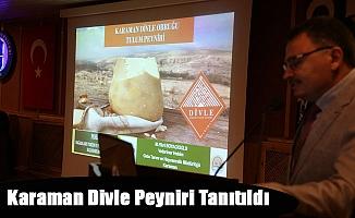 Karaman Divle Peyniri Tanıtıldı