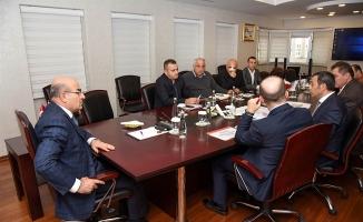 """VALİ DEMİRTAŞ BAŞKALIĞINDA """"TEKSTİL KENT"""" PROJESİ MASAYA YATIRILDI"""