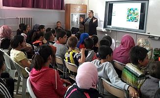Fatih Eğitim Çalışanları İlk ve Ortaokulu Kuntoğlu'na Projelerini Anlattı
