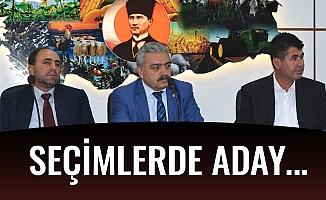 SEÇİMLERDE ADAY...