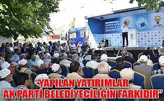 Yapılan Yatırımlar AK Parti Belediyeciliğin Farkıdır